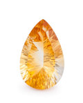 Gems:Faceted, Gemstone: Citrine - 8.85 Cts.. Brazil. 12.00 x 18.88 x 8.07 mm. ...