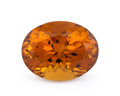 Gems:Faceted, Gemstone: Dark Citrine - 13.5 Cts.. Africa. 13.90 x 17.88 x 10.73 mm. ...
