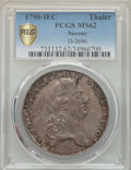 German States:Saxony, German States: Saxony. Friedrich August III Taler 1790-IEC MS62 PCGS,...