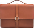 """Luxury Accessories:Accessories, Hermes 38cm Marron d'Inde Ardennes Leather Etriviere Meeting Briefcase. J Square, 2006. Condition: 4. 15"""" Width x ..."""