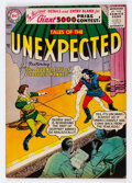 Silver Age (1956-1969):Horror, Tales of the Unexpected #5 (DC, 1956) Condition: FN....