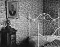 Photographs:Gelatin Silver, Walker Evans (American, 1903-1975). Bed and Stove, Truro,Massachusetts, 1936. Gelatin silver, 1971. 6 x 7-3/4 inches(1...