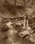Photographs, Edward Sheriff Curtis (American, 1868-1952). The Maid of Dreams, 1909. Gelatin silver. 13-7/8 x 10-7/8 inches (35.2 x 27...