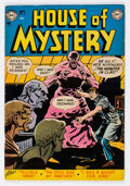 Golden Age (1938-1955):Horror, House of Mystery #6 (DC, 1952) Condition: VG/FN....