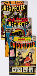 Silver Age (1956-1969):Horror, Tales of the Unexpected Group of 4 (DC, 1956-62) Condition: AverageVG+.... (Total: 4 Comic Books)