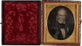 Political:Small Miscellaneous (pre-1896), Henry Clay: Cased Sixth-Plate Daguerreotype....
