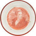 Political:3D & Other Display (pre-1896), Andrew Jackson: Enoch Wood Portrait Cup Plate....