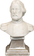 Political:3D & Other Display (pre-1896), John C. Frémont: Small Parian Bust....