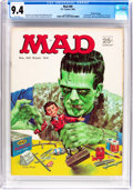 Magazines:Mad, MAD #89 Gaines File Pedigree (EC, 1964) CGC NM 9.4 White pages....
