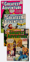 Silver Age (1956-1969):Adventure, My Greatest Adventure Group of 7 (DC, 1956-62) Condition: VG+.... (Total: 7 Comic Books)