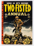 Golden Age (1938-1955):War, Two-Fisted Annual #2 (EC, 1953) Condition: VG+....