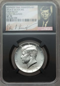 2014-D 50C High Relief Kennedy, 50th Anniversary, Early Releases SP70 NGC. This set includes the following: 2014-S&l...