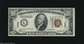 Small Size:World War II Emergency Notes, Fr. 2303 $10 1934A Hawaii Federal Reserve Note. Choice Crisp Uncirculated. A splendid Hawaii Ten that appears to be a near ...
