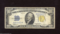 Small Size:World War II Emergency Notes, Fr. 2309 $10 1934A North Africa Silver Certificate. Fine. From Tripoli to Sicily, these notes exemplified the strength of o...