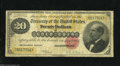 Large Size:Gold Certificates, Fr. 1178 $20 1882 Gold Certificate Very Good. This is an intact example of this early $20 Gold. After President Garfield was...