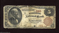 National Bank Notes:Pennsylvania, Harrisburg, PA - $5 1882 Brown Back Fr. 467 The Harrisburg NB Ch. #580 This is an example of the $5 Brown Back stacked...
