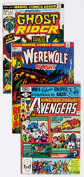 Modern Age (1980-Present):Miscellaneous, Marvel Bronze and Modern Age Comics Group of 58 (Marvel, 1970s-80s) Condition: Average VF.... (Total: 58 Comic Books)