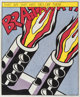 After Roy Lichtenstein (American, 1923-1997) As I Opened Fire, triptych, 1966 Offset lithographs in colors on smooth w...