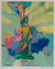 LeRoy Neiman (American, 1921-2012) Lady Liberty, circa 1986 Inkjet in colors on paper 31-1/2 x 26-1/8 inches (80.0 x