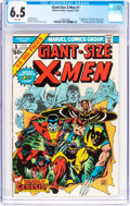 Bronze Age (1970-1979):Superhero, Giant-Size X-Men #1 (Marvel, 1975) CGC FN+ 6.5 White pages....