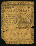 Continental Currency February 17, 1776 $1/2 Good