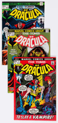 Bronze Age (1970-1979):Horror, Tomb of Dracula Group of 15 (Marvel, 1972-77) Condition: AverageVF/NM.... (Total: 15 Comic Books)