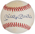 Autographs:Baseballs, Mickey Mantle Single Signed Baseball.. ...