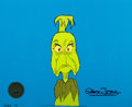 Animation Art:Production Cel, Dr. Seuss' How the Grinch Stole ChristmasProduction/Presentation Cel Setup (MGM, 1966)....