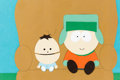 Animation Art:Color Model, South Park Kyle and Ike Color Model (Comedy Central/Celluloid Productions, 1998-99)....