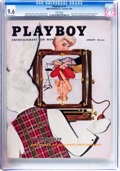 Magazines:Vintage, Playboy V3#1 (HMH Publishing, 1956) CGC NM+ 9.6 White pages....