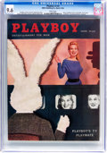 Magazines:Vintage, Playboy V3#3 (HMH Publishing, 1956) CGC NM+ 9.6 White pages....