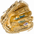 "Autographs:Others, Frank Robinson ""1958 GG"" Signed Mini Gold Glove.. ..."