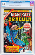 Bronze Age (1970-1979):Horror, Giant-Size Dracula #5 (Marvel, 1975) CGC NM 9.4 Off-white to whitepages....