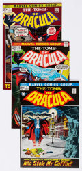 Bronze Age (1970-1979):Horror, Tomb of Dracula Group of 24 (Marvel, 1972-79) Condition: AverageVF.... (Total: 24 Comic Books)
