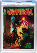 Magazines:Horror, Vampirella #2 (Warren, 1969) CGC NM- 9.2 White pages....