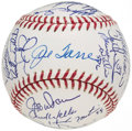 Autographs:Baseballs, 2003 New York Yankees, AL Champs, Team Signed Baseball (31Signatures).. ...