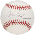 Autographs:Baseballs, President George W. Bush Single Signed Baseball. . ...