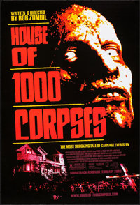 """House of 1000 Corpses & Others Lot (Lions Gate, 2003). One Sheets (3) (27"""" X 40"""", 41"""") SS. Horror..."""