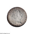 Early Half Dimes: , 1795 H10C MS64 NGC. LM-8, V-5, R-3. A die crack (as made) throughthe Y in LIBERTY to Liberty's nose is paired with a rever...
