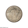 Standing Liberty Quarters: , 1916 25C MS61 ANACS. An Uncirculated example of this importantregular issue in the Standing Liberty quarter series, whose ...