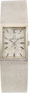 Estate Jewelry:Watches, Omega Gentleman's White Gold Watch. ...