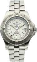 Estate Jewelry:Watches, Breitling Gentleman's Stainless Steel Colt A17380 Automatic Watch....
