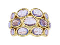 Estate Jewelry:Rings, Sapphire, Diamond, Gold Ring, Temple St. Clair. ...