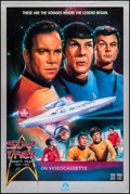 "Movie Posters:Science Fiction, Star Trek (Paramount, 1986). Video Poster (27"" X 40""). ScienceFiction.. ..."