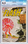 Silver Age (1956-1969):Superhero, The Flash #110 (DC, 1959) CGC VG+ 4.5 Off-white to white pages....