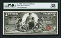 Large Size:Silver Certificates, Fr. 248 $2 1896 Silver Certificate PMG Choice Very Fine 35.. ...