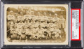 Baseball Cards:Singles (Pre-1930), 1915 Boston Red Sox Real Photo Postcard PSA VG+ 3.5 with Rookie Babe Ruth. ...