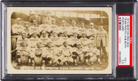 1915 Boston Red Sox Real Photo Postcard PSA VG+ 3.5 with Rookie Babe Ruth