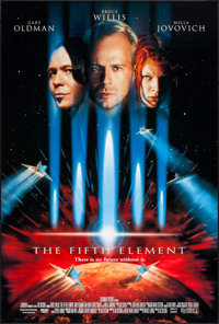 "The Fifth Element (Columbia, 1997). One Sheet (26.75"" X 39.75""). Science Fiction"