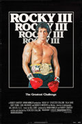 "Movie Posters:Sports, Rocky III (United Artists, 1982). Autographed One Sheet (27"" X 41""). Sports.. ..."